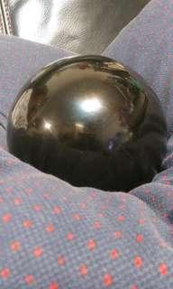 宽15cm黑曜石球一件