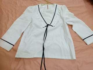 🚚 免運~小資上班族最愛白襯衫(只試穿1次)