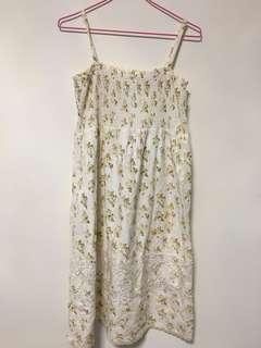 🚚 E-WEAR 專櫃 細肩碎花蕾絲洋裝