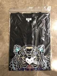 WTS Kenzo Black Tiger Tee Size XL