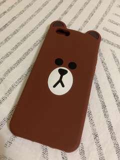 LINE BROWN BEAR CASING IPHONE 6