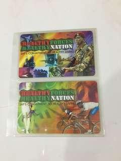 🚚 SMRT Card - Promotions Sale - Healthy Forces Healthy Nation (2 cards)