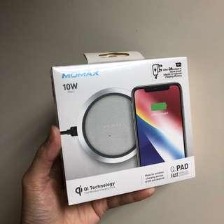 無線充電器 momax for iPhone X