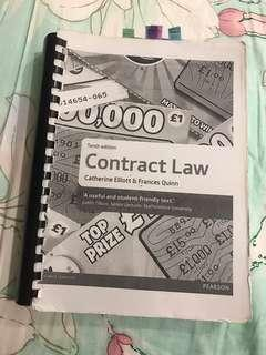 Catherine Elliot contract law 10th edition