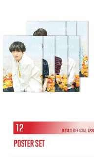 BTS LOVE YOURSELF JAPAN POSTER