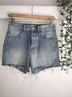 Rollas Gday Mate denim shorts
