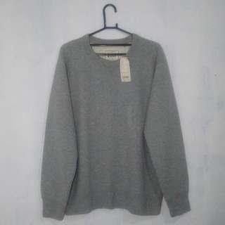 Crewneck Uniqlo Grey (L)
