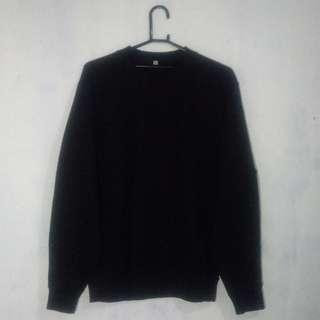 Crewneck Uniqlo Black (M)
