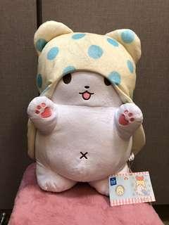 毛毯熊 拖把熊 公仔 Sanrio Marumofubiyori