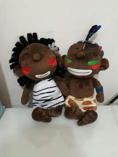 🚚 【兩支合售】印地安娃娃購物袋