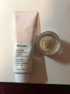 glossier priming moisturizer+ concealer