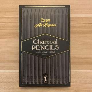 🚚 Typo charcoal pencils