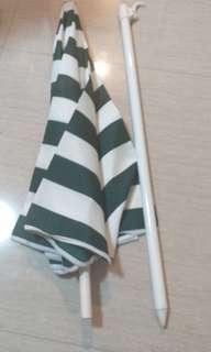 沙灘太陽傘 beach umbrella