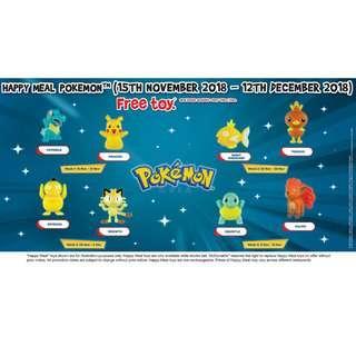 Full set - McDonald's Pokémon