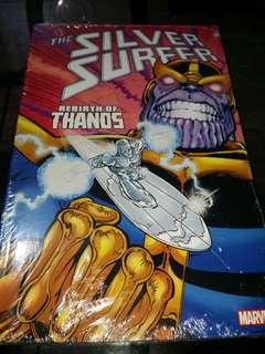 Silver Surfer Rebirth of Thanos TPB trade paper back marvel comics graphic novels