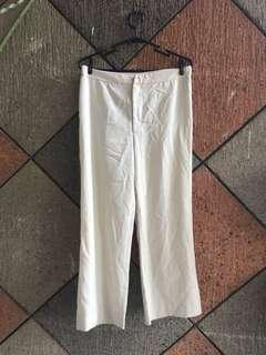 Off-White Straight Cut Pants