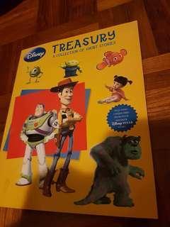 🚚 Disney treasury book. Memo, monster Inc. Toy story.