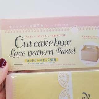 蛋糕盒 cake box bakery 烘焙 焗 食物盒 送禮