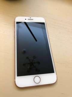 八成新iPhone7 玫瑰金128g