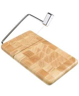 Cheese Slicer Serving Board with Cutting Wire