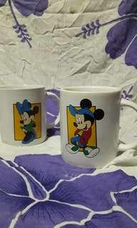 Cangkir / Gelas / Mug Couple Disney