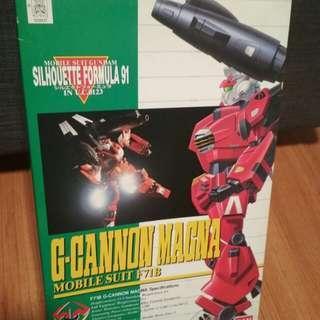 1/100 Gundam g-cannon magna