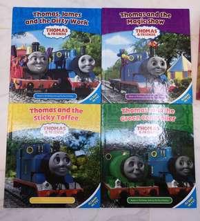 Thomas & Friends james, 圖書四本另送顏色book