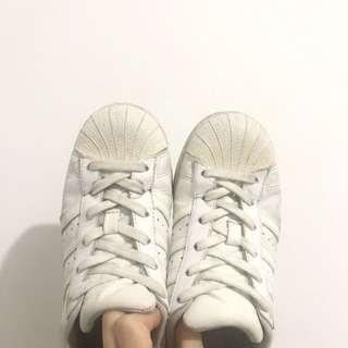 🚚 Adidas original superstar 全白 貝殼