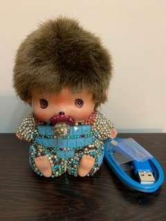 Monchichi USB 充電寶 power bank