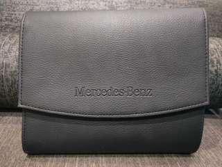 Mercedes clutch pouch bag handcarry folder