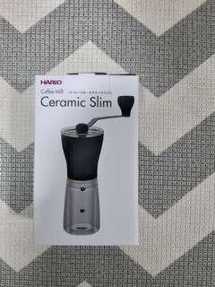🚚 Hario coffee mill ceramic slim