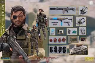 🚚 LIMTOYS - 1/12 Scale The Phantom Legend Meral Gear Solid Snake MGS (A++ Version) Not Mezco Toys or Hot Toys