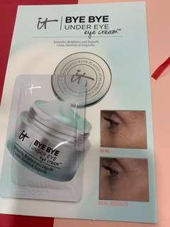 It bye bye under eye cream
