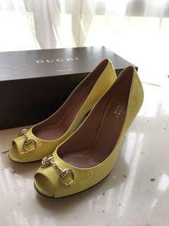 Brand new 37.5 Gucci open toe high heels