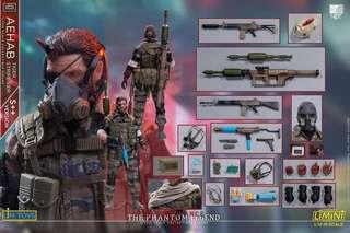 🚚 LIMTOYS - 1/12 Scale The Phantom Legend Meral Gear Solid Snake MGS (S++ Version) Non Mezco Toys or Hot Toys