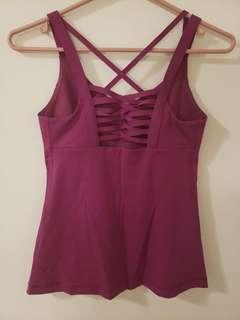 Lululemon tank top/ work out top