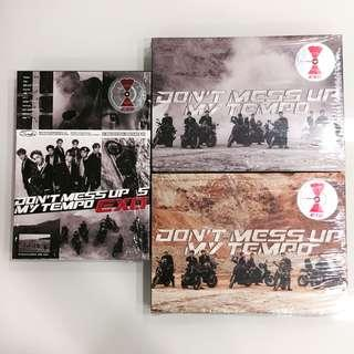 EXO Dont Mess Up My Tempo Unsealed Albums