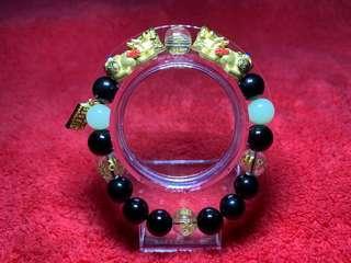 🚚 LuckBox pure 999 Gold Pixiu Bracelet (custom made)