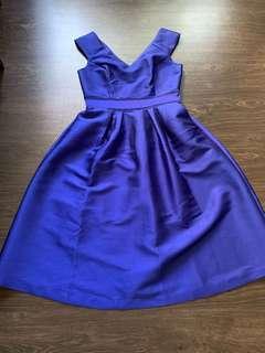 Oasis royal blue dress