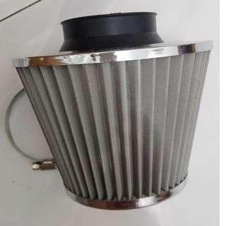 air filter and oil cooler