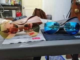 Rayban RB3026 Blue Pink