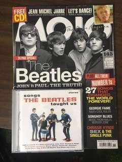 The beatles cd & megazine