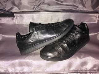 Adidas Stansmith Leather (all black) US9.5/ 43 1/3/ 27,5cm. Second!!