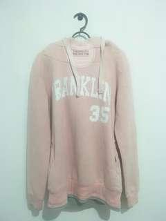 FRANKLIN MARSHALL DUSTY PINK HOODIE