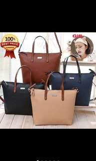 Mango PU leather Tote Shoulder handbag