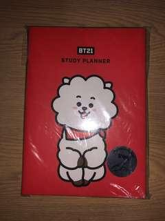 🚚 BT21 STUDY PLANNER (INSTOCK)