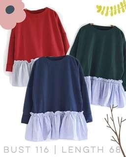 Ruffle sweater (NEW)