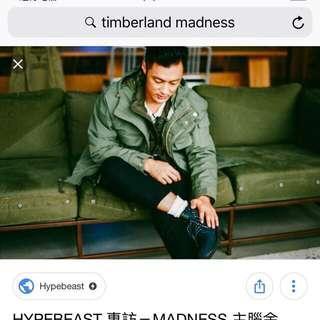 Madness x Timberland