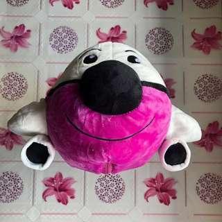 Neck Pillow cum Soft Toy Airplane