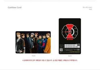 Limited EXO Tempo Cashbee